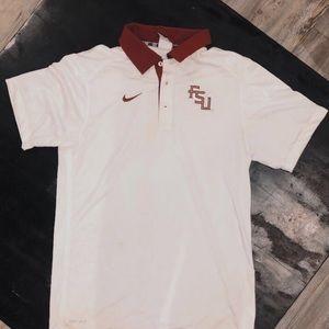 Florida State University Nike Collared Shirt